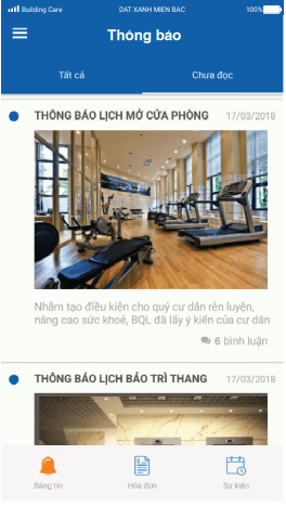 giao diện building care
